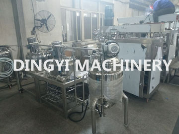 Vacuum Planetary Lotion Mixer Machine Jet Type 100L Stainless Steel 316L