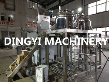 Tilting Hydraulic Lift  Cosmetic Cream Mixers High Shear Speed 1200-3500rpm