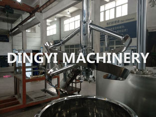 Jet Type Lotion Mixer Machine High Shear 100L Stainless Steel 316L Emulsion Function